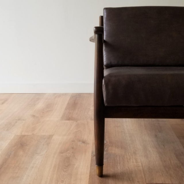 1960s Newly Upholstered Folke Ohlsson Lounge Chair For Sale In Seattle - Image 6 of 13
