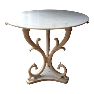 1950s Palladio Marble Side Table