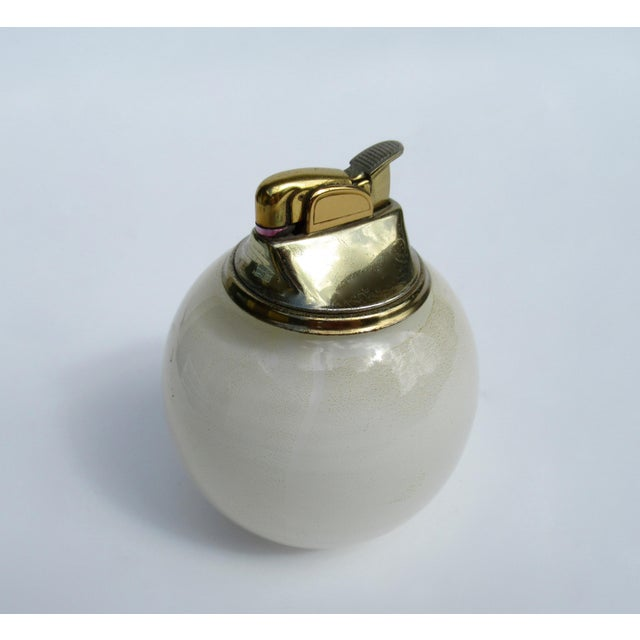 Hollywood Regency Vintage C.1950s Alfredo Barbini Handblown Murano Lighter For Sale - Image 3 of 13