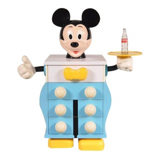 Mickey Mouse Cabinet by Pierre Colleu for Starform, France, circa 1980