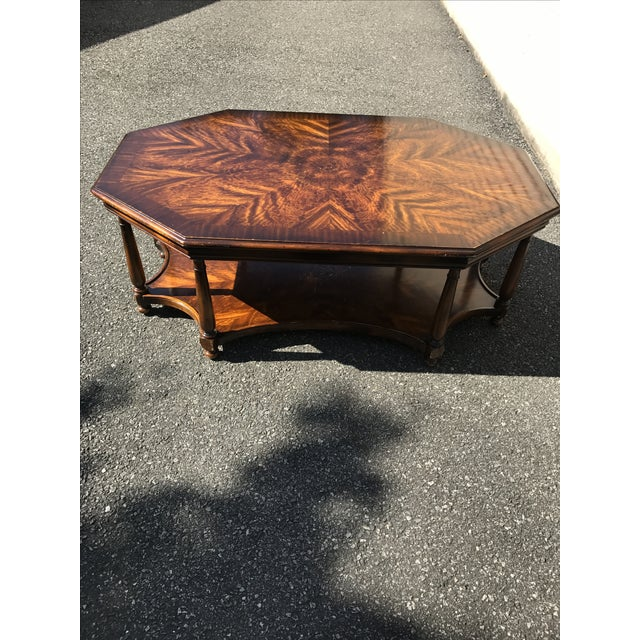 Baker Octagonal Coffee Table - Image 2 of 4