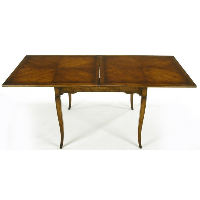 Old Colony Furniture Walnut Flip Top Games Table - Image 2 of 10
