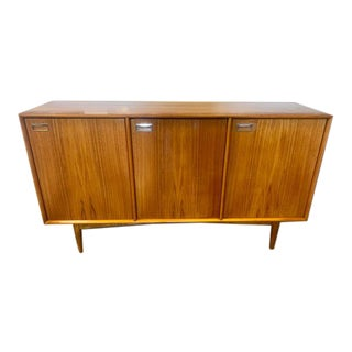 1960s Danish Mid-Century Credenza in Teak and Rosewood For Sale