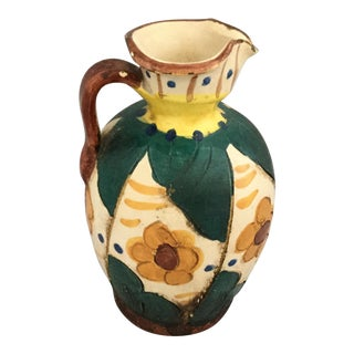 Italian Miniature Hand Crafted Pitcher For Sale