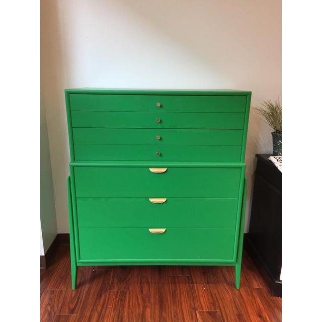 Green Mid-Century Modern Dresser For Sale - Image 9 of 9