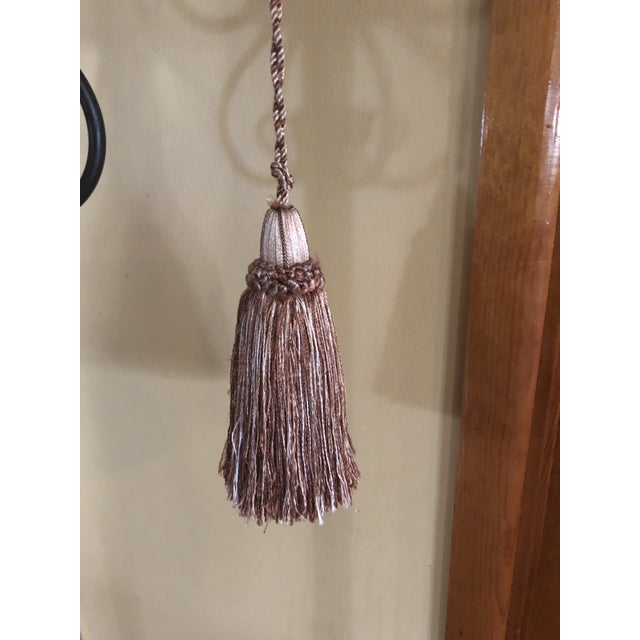 Traditional Samuel & Sons Silk Key Tassels - a Pair For Sale - Image 3 of 4