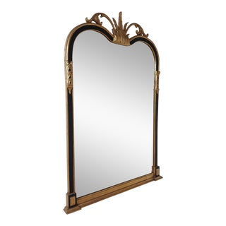 Late 17th Century Friedman Brothers Gold Leaf and Black Wall Mirror For Sale