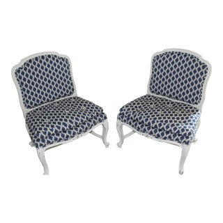 Antique French Provincial Chairs- A Pair For Sale