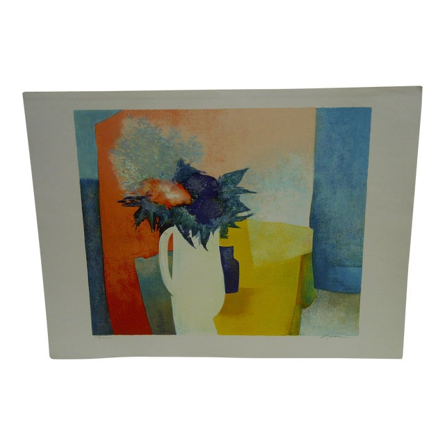 Limited Edition Signed Print Spring Claude Gaveau For Sale