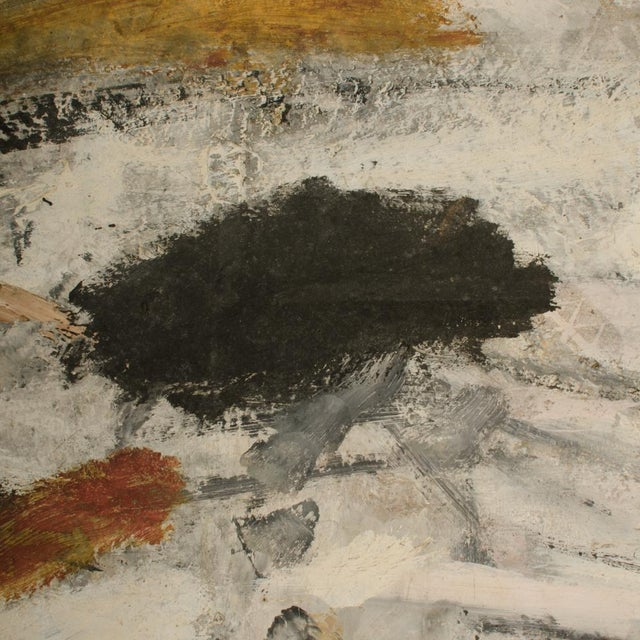 Mid 20th Century Abstract Oil Painting by Newton Haydn Stubbing For Sale - Image 10 of 13