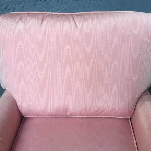 Vintage Pink Chaise Lounge - Image 8 of 11