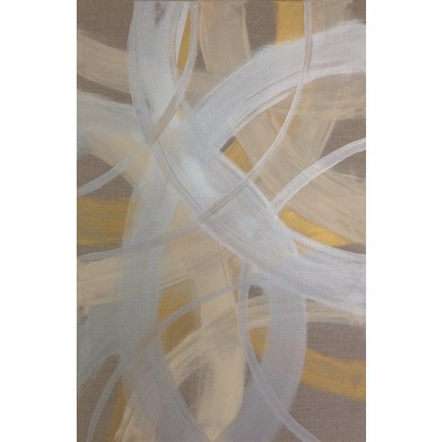 'CELESTiNE' original abstract painting by Linnea Heide - Image 2 of 8