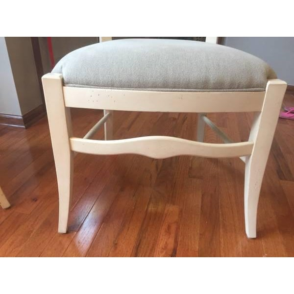 Ethan Allen Ladder Back End & Side Chairs - S/6 - Image 3 of 6