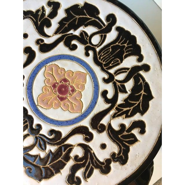 Chinese Porcelain Lion Head Motif Garden Stool - Image 5 of 11