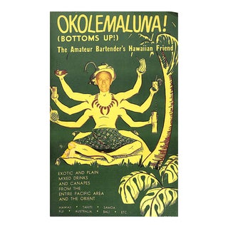 Okolemaluna! The Amateur Bartender's Hawaiian Friend Book For Sale
