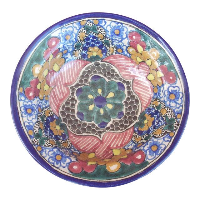 Vintage Mexican Talavera Bowl - Image 1 of 4
