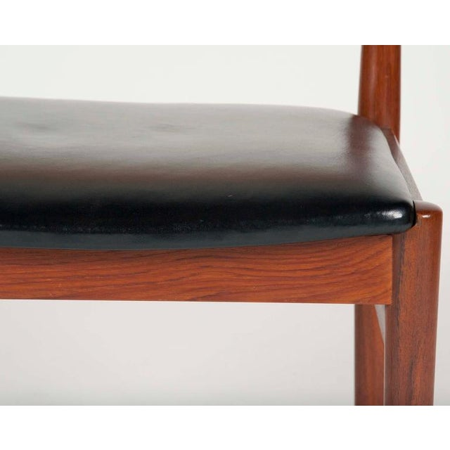 Model W26 Teak Chairs by Erik Worts - Set of 4 For Sale - Image 11 of 12