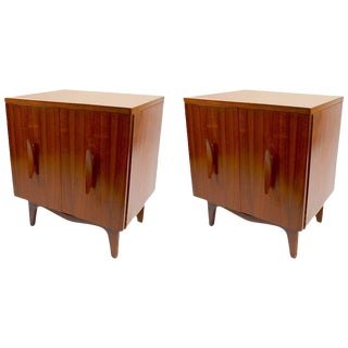 Pair of Mid-Century Nightstands For Sale