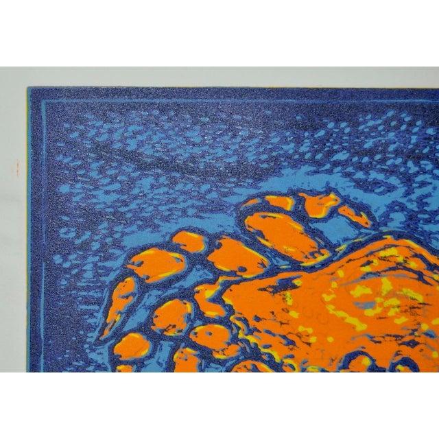 """Circa 2003 Arnold Grossman """"Dungeness"""" Silkscreen - Image 7 of 7"""