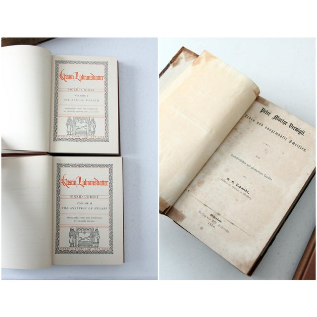 Antique Varied Book Collection - Set of 3 - Image 5 of 5