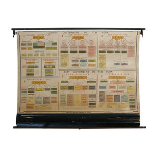 NYC & County Government Chart For Sale