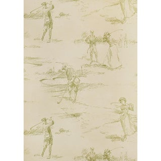 Golfing Green Wallpaper Sample For Sale