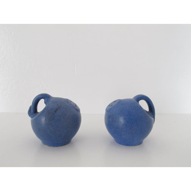 Blue Pottery Salt & Pepper Shakers - Pair - Image 3 of 7
