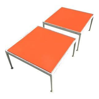 1960s Mid Century Modern Richard Schultz Knoll Patio Coffee Tables - a Pair For Sale