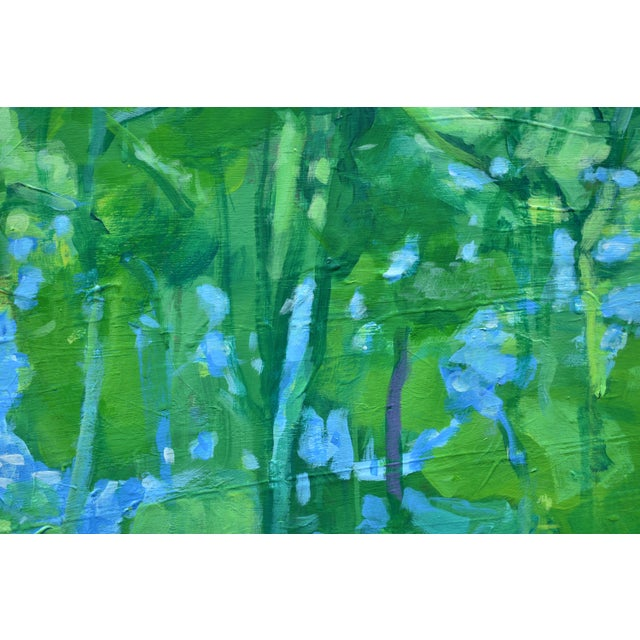 "Paint ""A Midsummer Day's Dream"" Large (32"" X 80"") Contemporary Painting by Stephen Remick For Sale - Image 7 of 11"
