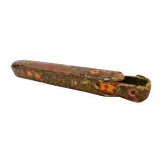 19th Century Persian Qajar Period Qalamdan Pen Case For Sale