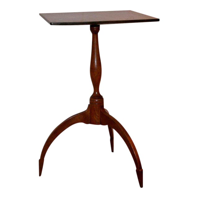 American Cherry Candle Stand For Sale
