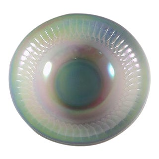 1950's Federal Glass Moon Glow Serving Bowl