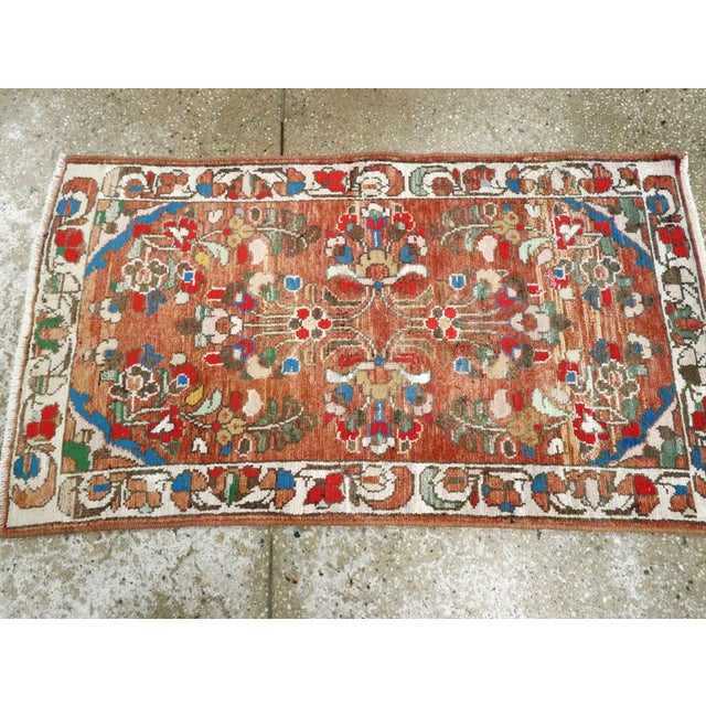 "Vintage Persian Hamadan Rug - Size: 2' 1"" X 3' 8"" For Sale In New York - Image 6 of 9"