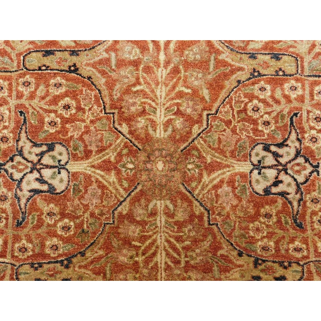 2010s Handmade Indian Rug - 8' x 10' For Sale - Image 5 of 10