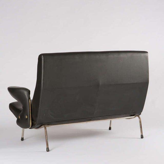 """1950s Rare """"Delfino"""" Sofa by Erberto Carboni for Arflex For Sale - Image 5 of 10"""