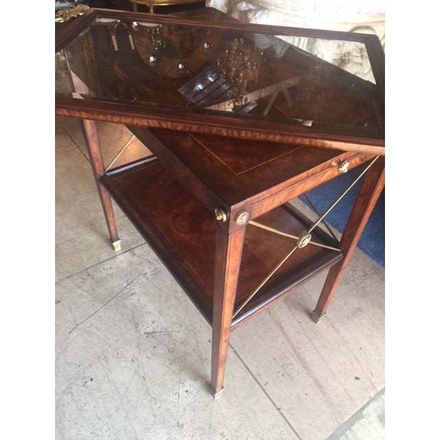 Drinks Cart Tea Table With Removable Tray Top For Sale In Los Angeles - Image 6 of 9