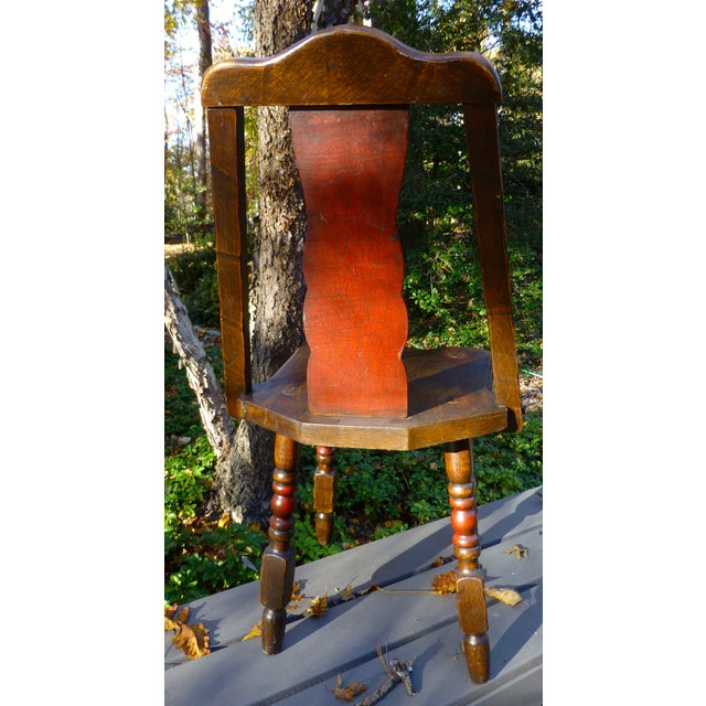 Hand Painted Mason Monterey A-Frame Chair - Image 3 of 7