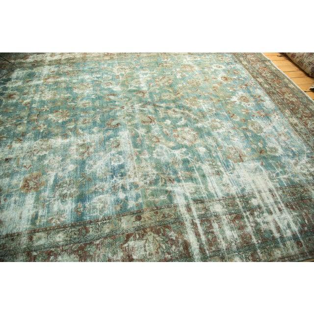 """Textile Vintage Kerman Carpet - 9'9"""" x 13'2"""" For Sale - Image 7 of 10"""