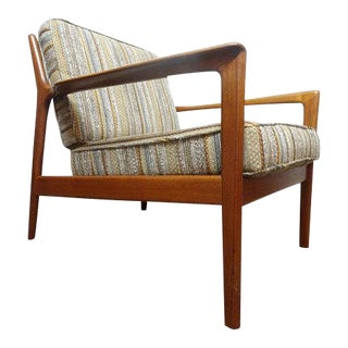1960s Mid-Century Modern Folke Ohlsson for Dux Usa Lounge Chair For Sale