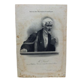 "Vintage French ""Mr. Dumeril"" Couis De Pathologie Lithograph For Sale"