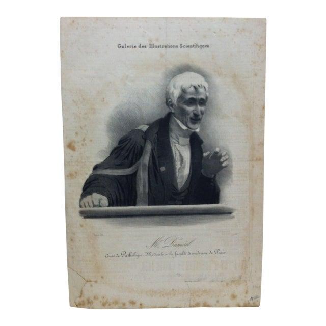 """Vintage French """"Mr. Dumeril"""" Couis De Pathologie Lithograph For Sale"""