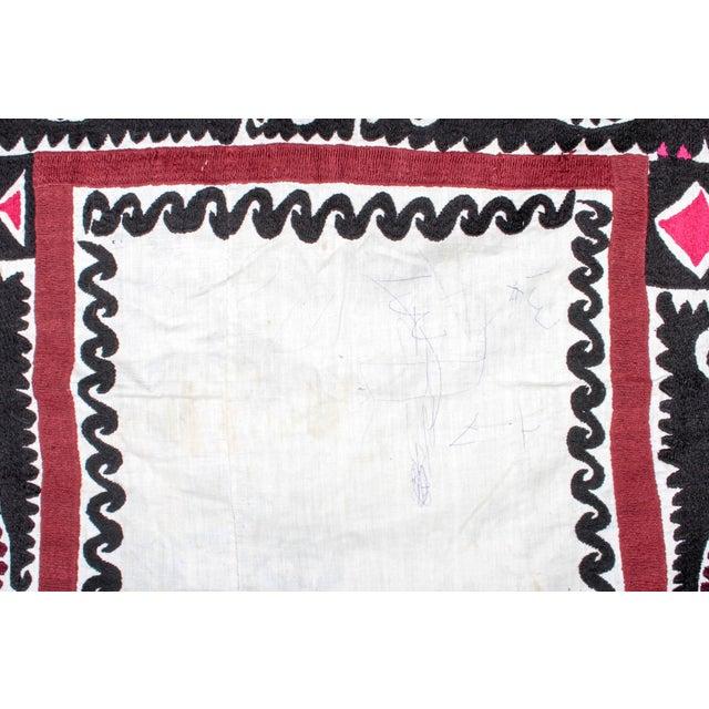 Embroidered Vintage Prayer Suzani - Image 7 of 7