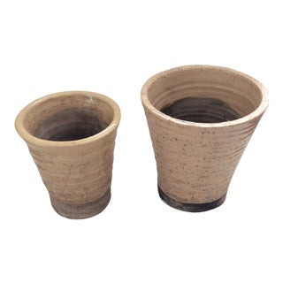 1990s Flower Pots - a Pair For Sale