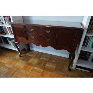 Vintage Craftique Mahogany Queen Anne Sideboard Preview