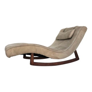 Mid-Century Modern Adrian Pearsall Chaise Lounge For Sale