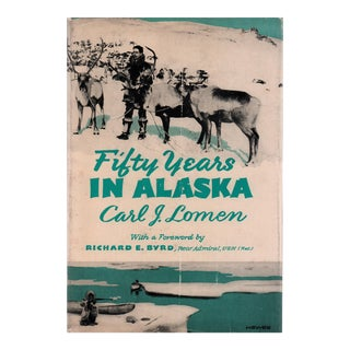"1954 ""Fifty Years in Alaska"" Collectible Book For Sale"