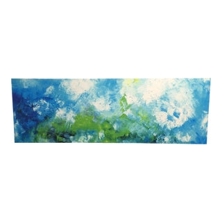 2010s Abstract Painting on Canvas of Sky Giclee