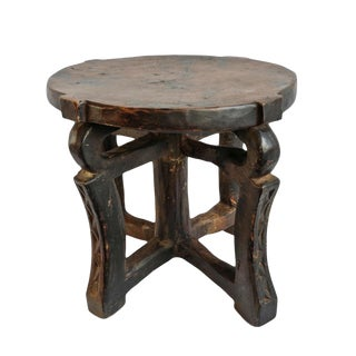 Makonde Tanzania Stool For Sale