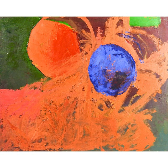 Abstract Abstract Spheres Painting by Bruce Clements For Sale - Image 3 of 3