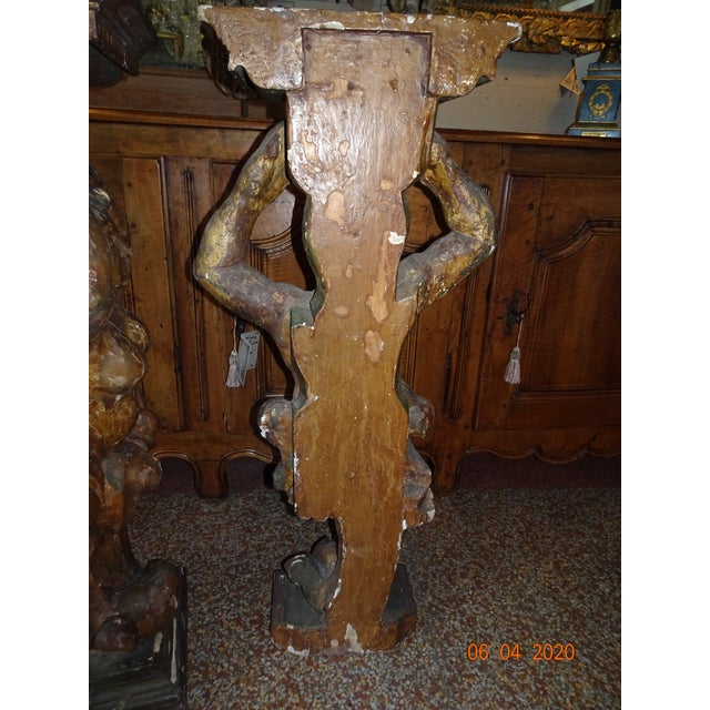17th Century Italian Caryatids - a Pair For Sale - Image 9 of 11